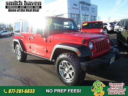 2015 Jeep Wrangler 4WD Unlimited Rubicon for sale 100944530