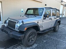 2015 Jeep Wrangler 4WD Unlimited Sport for sale 100944924