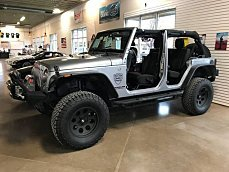 2015 Jeep Wrangler 4WD Unlimited Sahara for sale 100946202