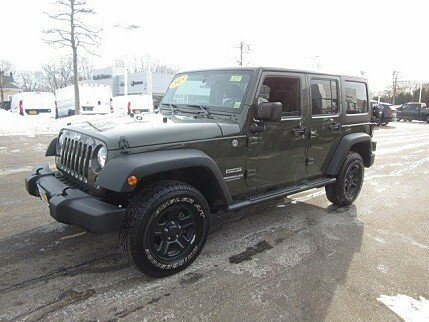 2015 Jeep Wrangler 4WD Unlimited Sport for sale 100946361