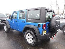 2015 Jeep Wrangler 4WD Unlimited Sport for sale 100956082