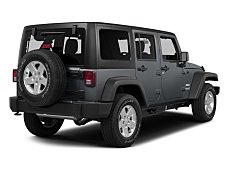 2015 Jeep Wrangler 4WD Unlimited Sahara for sale 100978919