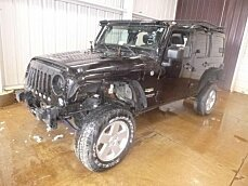 2015 Jeep Wrangler 4WD Unlimited Sahara for sale 100982847