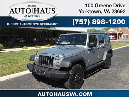 2015 Jeep Wrangler 4WD Unlimited Sport for sale 100982864