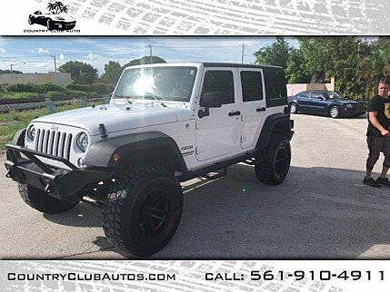 2015 Jeep Wrangler 4WD Unlimited Sport for sale 100995496