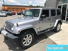 2015 Jeep Wrangler 4WD Unlimited Sahara for sale 101001070