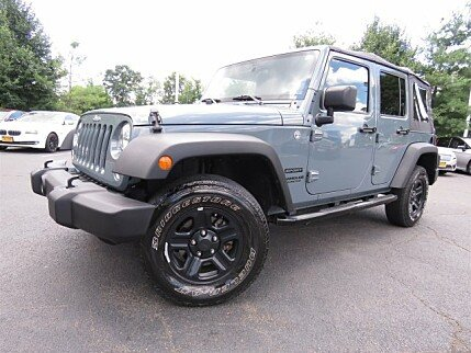 2015 Jeep Wrangler 4WD Unlimited Sport for sale 101002424