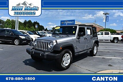 2015 Jeep Wrangler 4WD Unlimited Sport for sale 101007848