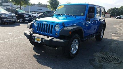 2015 Jeep Wrangler 4WD Unlimited Sport for sale 101009229