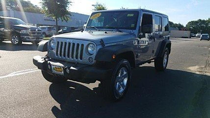 2015 Jeep Wrangler 4WD Unlimited Sport for sale 101011698