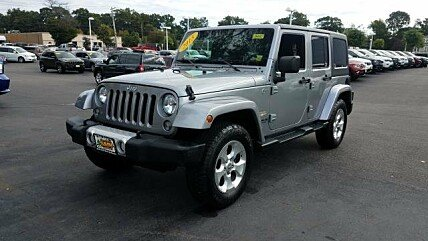 2015 Jeep Wrangler 4WD Unlimited Sahara for sale 101036271