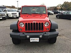 2015 Jeep Wrangler 4WD Unlimited Sport for sale 101055103