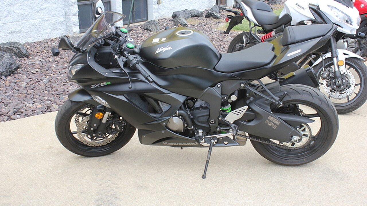 2015 Kawasaki Ninja ZX-6R for sale 200610410