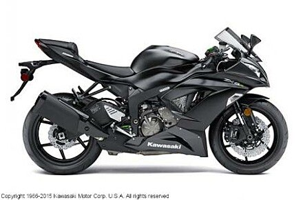 2015 Kawasaki Ninja ZX-6R for sale 200651941