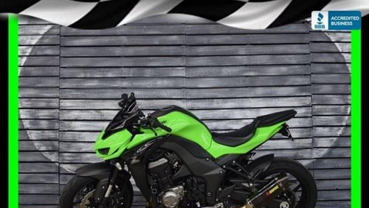2015 Kawasaki Z1000 for sale 200522895