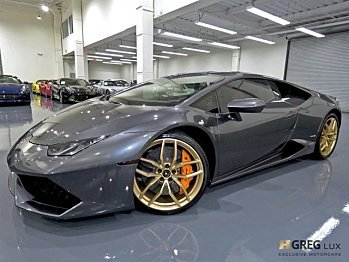 2015 Lamborghini Huracan LP 610-4 Coupe for sale 101029498