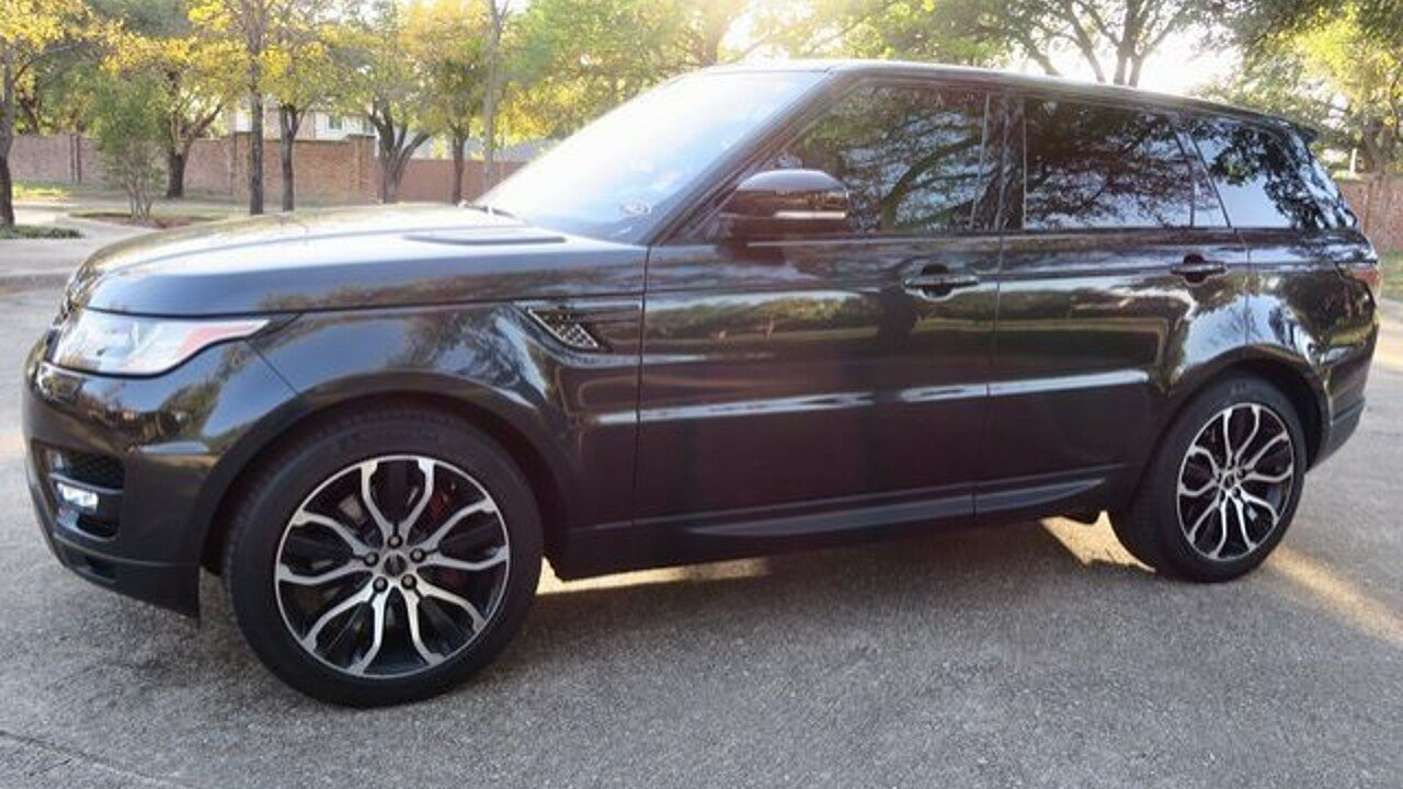 2015 Land Rover Range Rover Sport Supercharged for sale 100817696