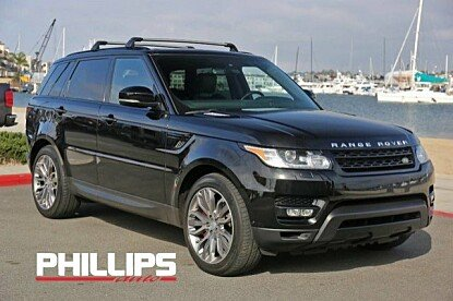 2015 Land Rover Range Rover Sport Supercharged for sale 100931675