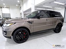 2015 Land Rover Range Rover Sport Supercharged for sale 100972841