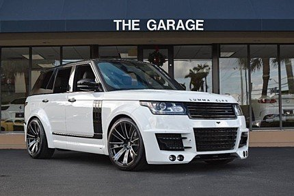 2015 Land Rover Range Rover Supercharged for sale 100836676