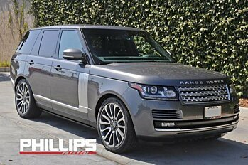 2015 Land Rover Range Rover Supercharged for sale 100755095