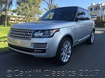 2015 Land Rover Range Rover Supercharged for sale 100863501