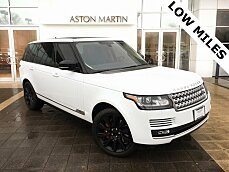 2015 Land Rover Range Rover Long Wheelbase Supercharged for sale 100946889