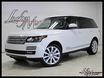 2015 Land Rover Range Rover Supercharged for sale 100991021