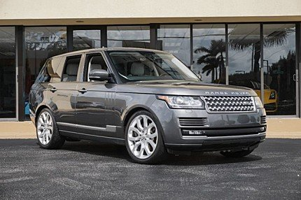 2015 Land Rover Range Rover Supercharged for sale 101008881