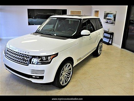 2015 Land Rover Range Rover Supercharged for sale 101040761