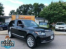 2015 Land Rover Range Rover HSE for sale 101041705