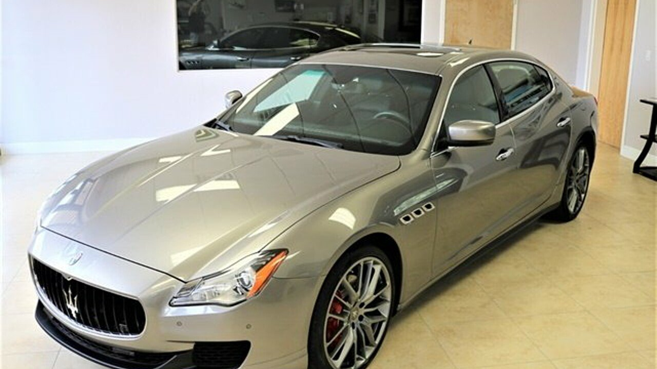2015 Maserati Quattroporte S Q4 for sale 101035801