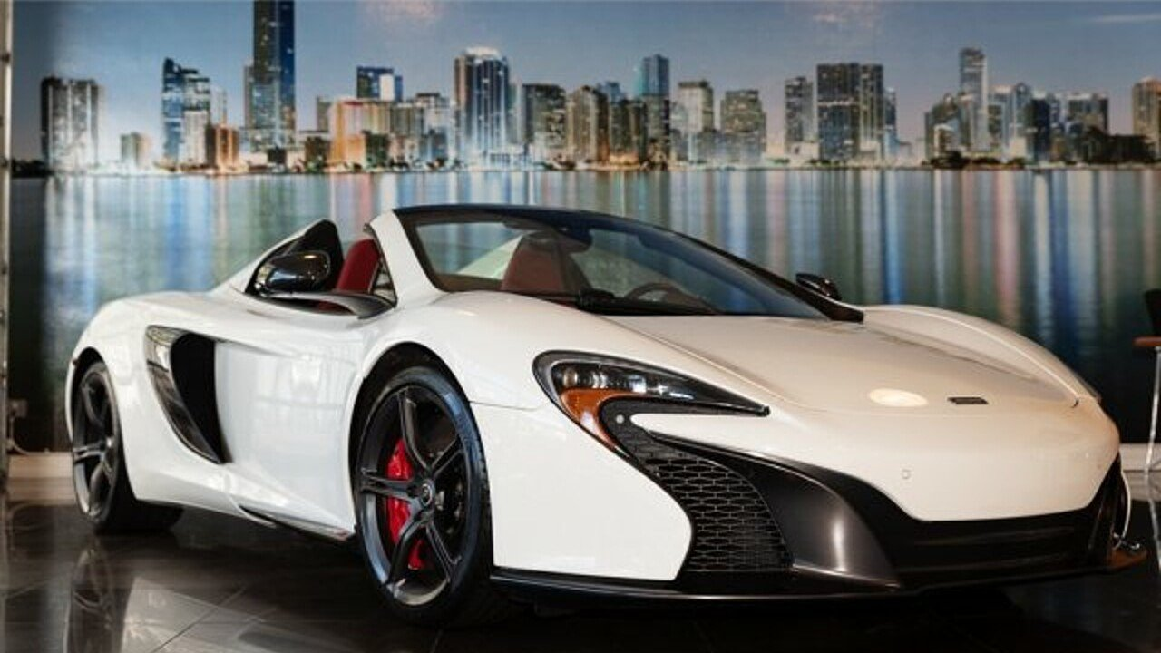 2015 McLaren 650S Spider for sale 101026461