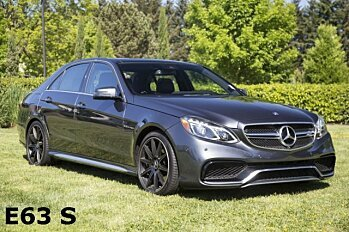 2015 Mercedes-Benz E63 AMG S-Model 4MATIC Sedan for sale 100996063