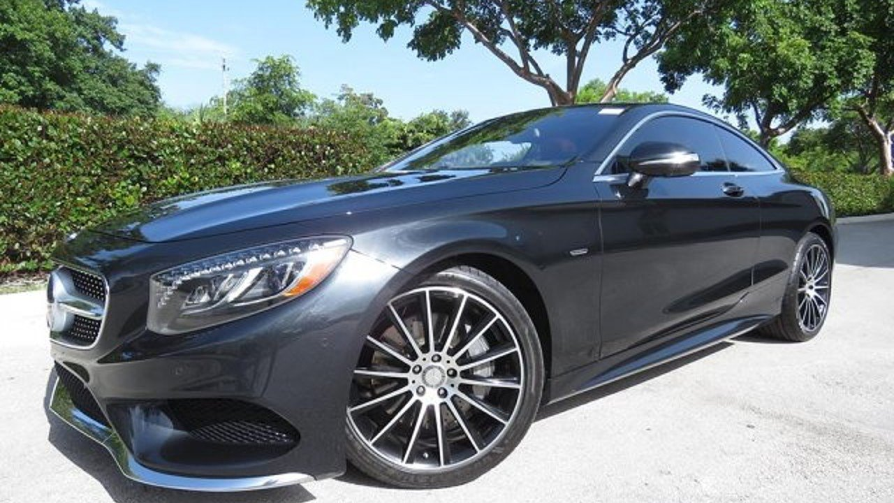 2015 Mercedes-Benz S550 4MATIC Coupe for sale 101022970