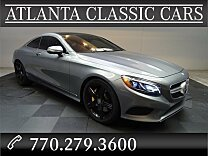 2015 Mercedes-Benz S550 4MATIC Coupe for sale 100951841