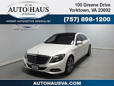 2015 Mercedes-Benz S550 4MATIC Sedan for sale 100962913