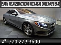 2015 Mercedes-Benz S550 4MATIC Coupe for sale 100982355
