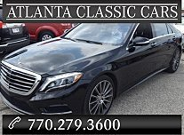 2015 Mercedes-Benz S550 4MATIC Sedan for sale 101025626