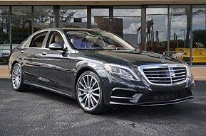 2015 Mercedes-Benz S550 Sedan for sale 101054321
