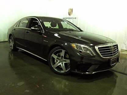 2015 Mercedes-Benz S63 AMG 4MATIC Sedan for sale 100855255