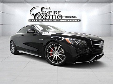 2015 Mercedes-Benz S63 AMG 4MATIC Coupe for sale 100855263