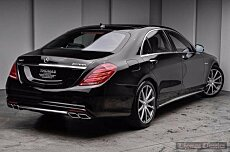 2015 Mercedes-Benz S63 AMG 4MATIC Sedan for sale 100925598
