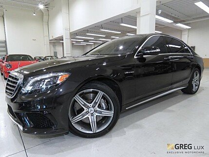 2015 Mercedes-Benz S63 AMG 4MATIC Sedan for sale 100931671