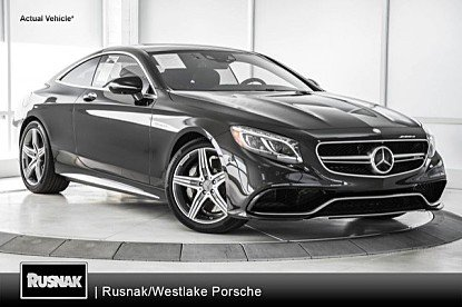 2015 Mercedes-Benz S63 AMG 4MATIC Coupe for sale 100951565