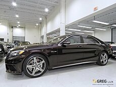 2015 Mercedes-Benz S63 AMG 4MATIC Sedan for sale 100968787