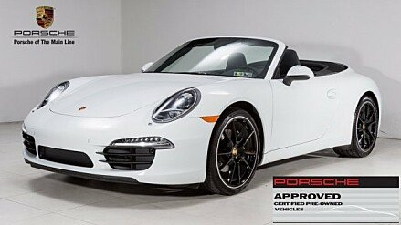 2015 Porsche 911 Carrera Cabriolet for sale 100908091