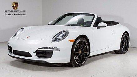 2015 Porsche 911 Carrera Cabriolet for sale 100908091