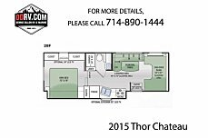 2015 Thor Chateau for sale 300152901