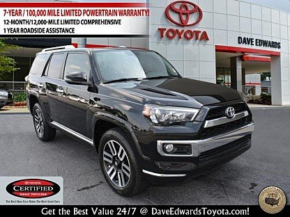 2015 Toyota 4Runner 4WD for sale 101004412